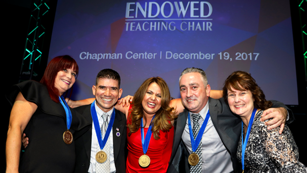 2017 Endowed Teaching Chairs