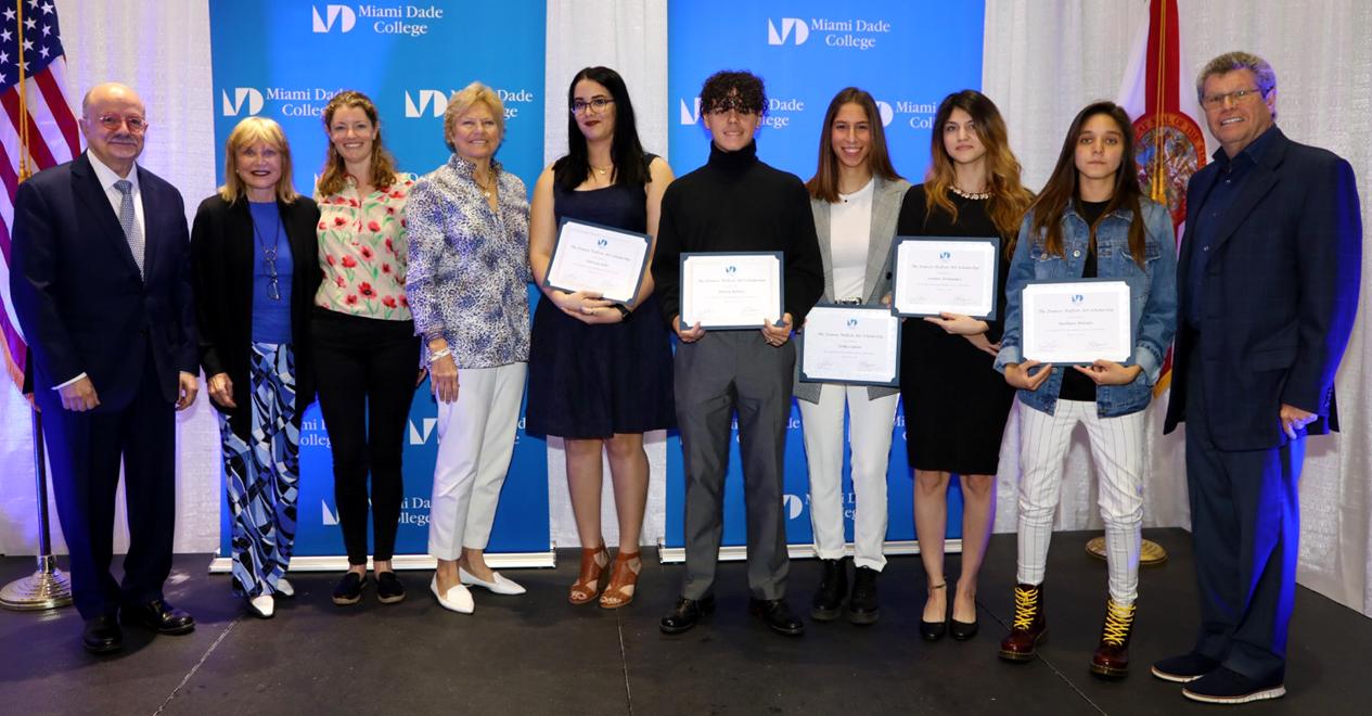 2018 Frances Wolfson Art Scholarship Recipients