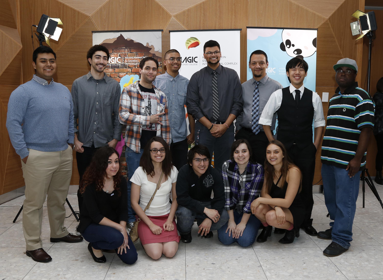 Group photo of MAGIC Program students