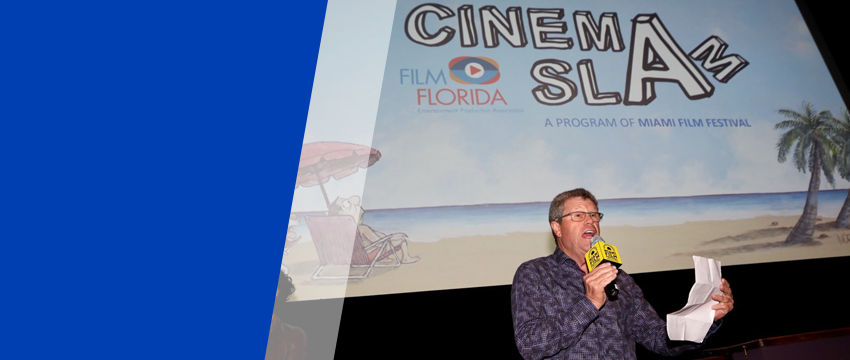 Louis Wolfson III at CinemaSlam