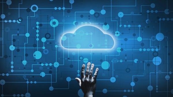 Cloud cpmputing graphic