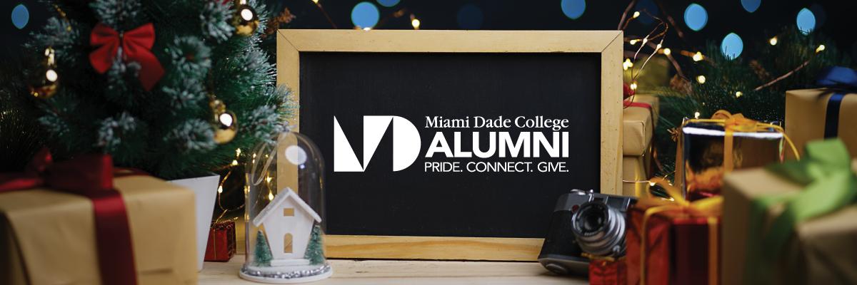 MDC Alumni logo in a picture frame