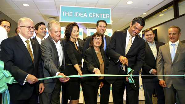 Opening of the Idea Center