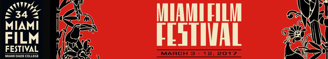 Miami Film Festival 2017 banner