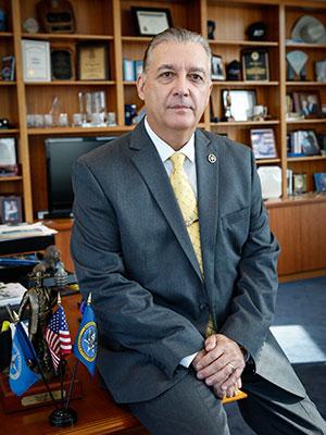 Photograph of Amos Rojas Jr.