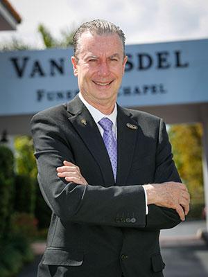 Photograph of Donald Van Orsdel
