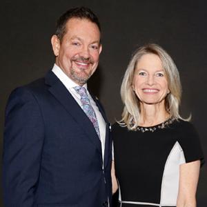 Portrait photo of Mark Cole and Julie Grimes