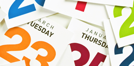 Random calendar days