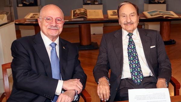Jay Kislak and Dr. Eduardo Padron