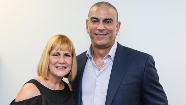 Portrait photo of Leslie and Joseph Palmar