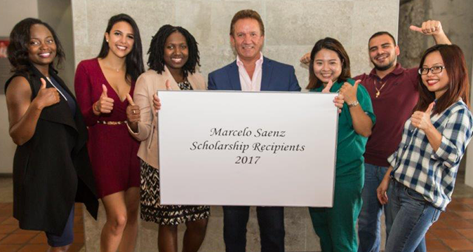 Marcelo Saenz Scholarship Recipients 2017